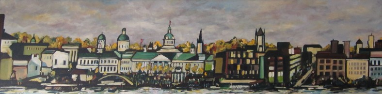 Kingston 48 x 12 Acrylic on Canvas