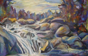 Algonquin Park (sold) Acrylic on Canvas