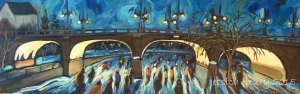 Underpass 12 x 36 Acrylic on Canvas