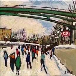 Footbridge at 0.8km